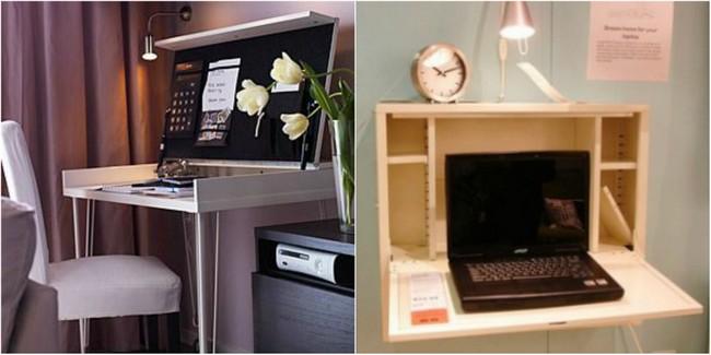 Werkplek in de woonkamer | Woonstijladvies.nl