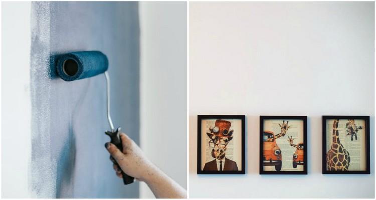Unieke wandafwerking als wanddecoratie woonstijladvies