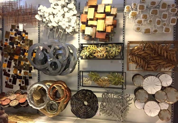 Unieke metalen wanddecoratie woonstijladvies