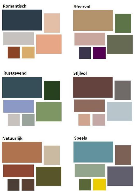 kleurenschemas voor de slaapkamer