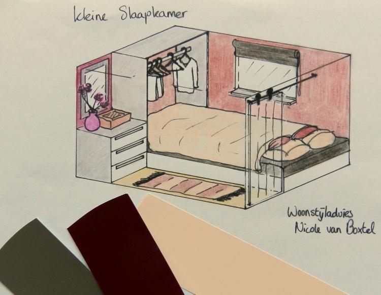 Indeling Kleine Slaapkamer : Kleine slaapkamer inrichten woonstijladvies.nl